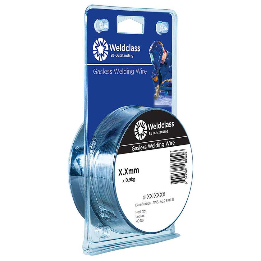 Weldclass Gasless Wire Mini Spools 0.8mm 0.9kg