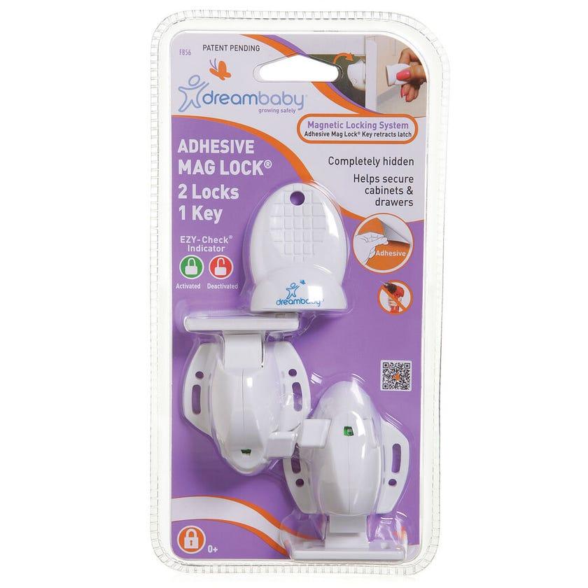 Dreambaby Adhesive Mag Locks® 2 Locks 1 Key
