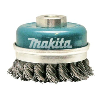 Makita Knotted Wire Cup Brush 100mm