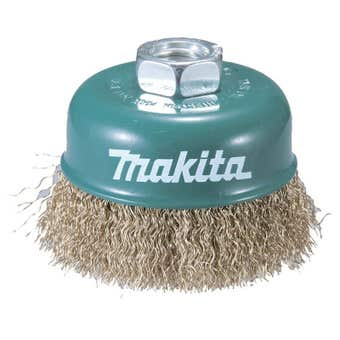 Makita Brass Coated Cup Brush 75mm