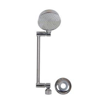 Brasshards All Directional Snap Lock Shower Chrome