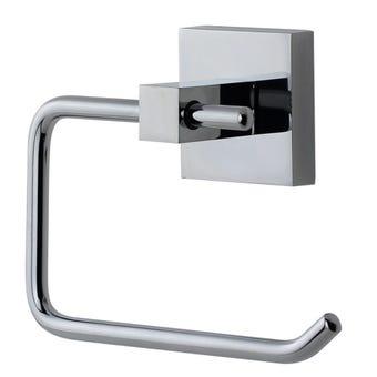 Mixx Toilet Roll Holder Square Chrome
