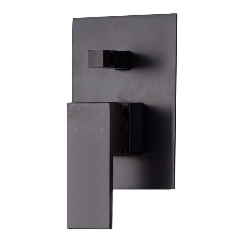 MIXX Kubos Shower Diverter Mixer Black