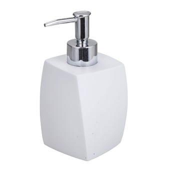 Interbath Rondel Soap Dispenser White