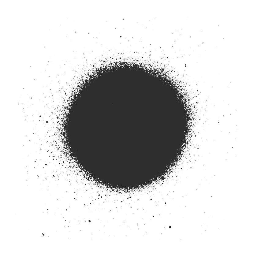 Accent Quickspray Flat Black 310G