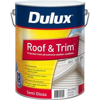Dulux Weathershield Roof And Trim Semi Gloss Surfmist 10L