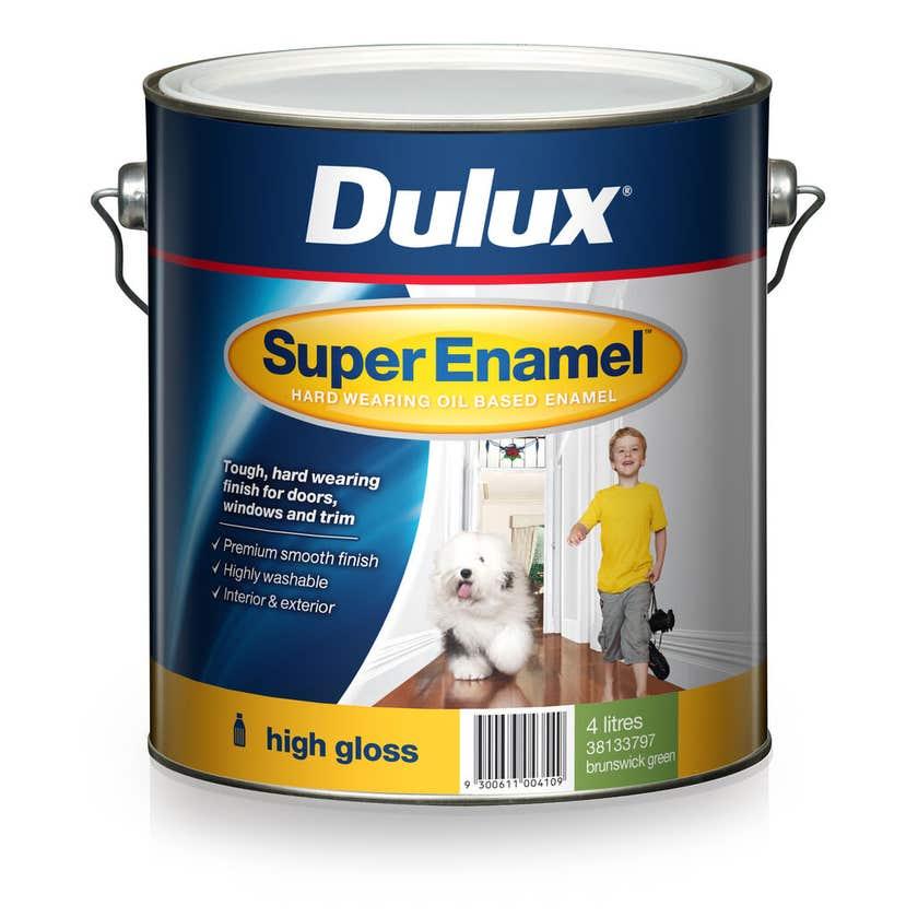 Dulux Super Enamel High Gloss Brunswick Green 4L
