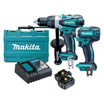 Makita 18V 5.0Ah Mobile Combo Kit - 2 Piece DLX2145T