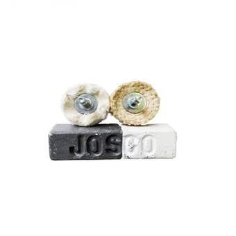 Josco Metal Polishing Kit with Buffs & Compounds