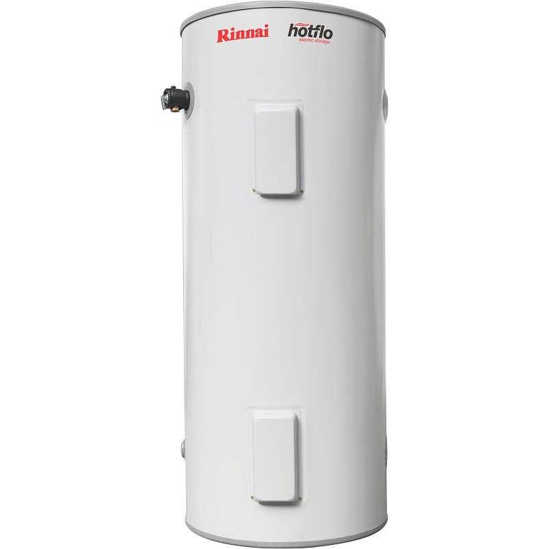 Rinnai Hotflo Twin Element Electric Hot Water Storage Tank Soft Water 3.6kW 250L