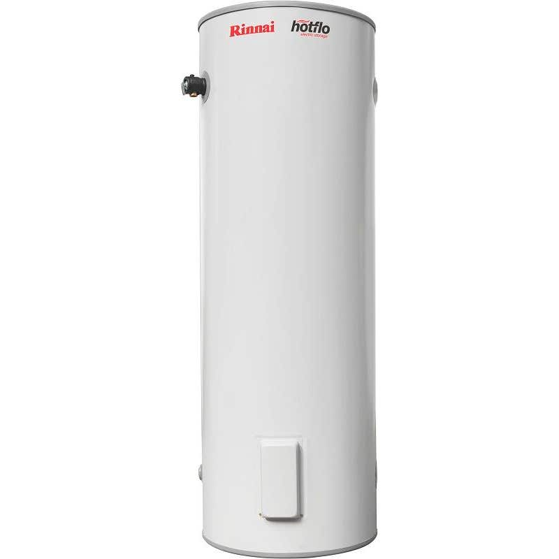 Rinnai Hotflo Single Element Electric Hot Water Storage Tank Hard Water 2.4kW 315L