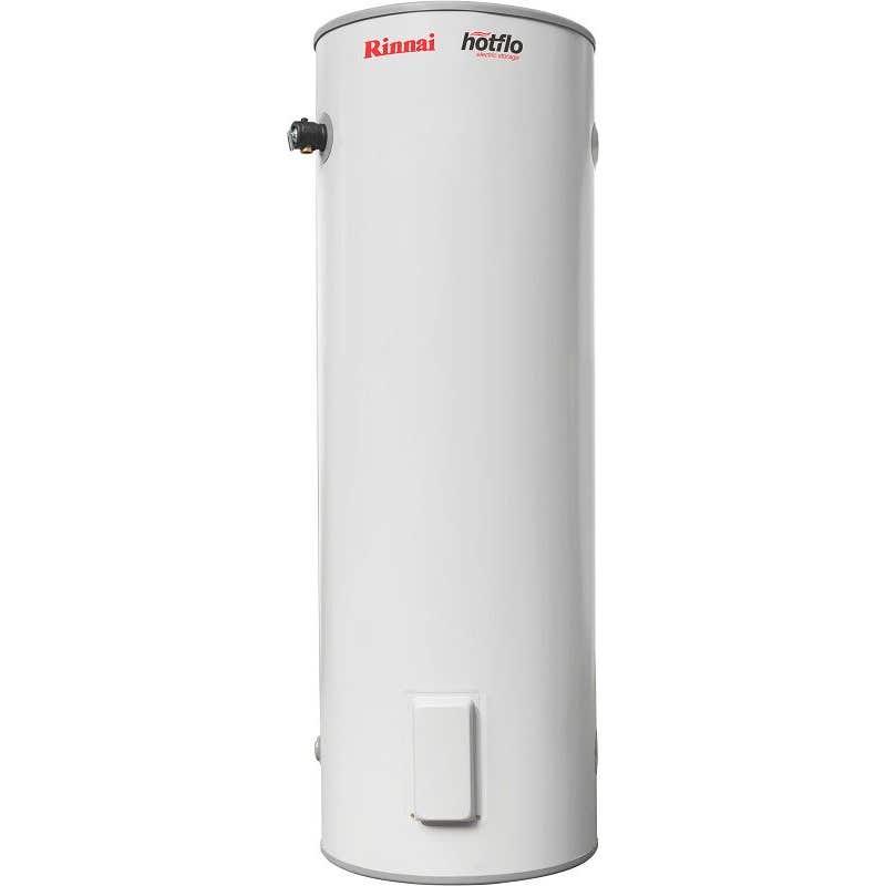 Rinnai Hotflo Single Element Electric Hot Water Storage Tank Hard Water 4.8kW 315L