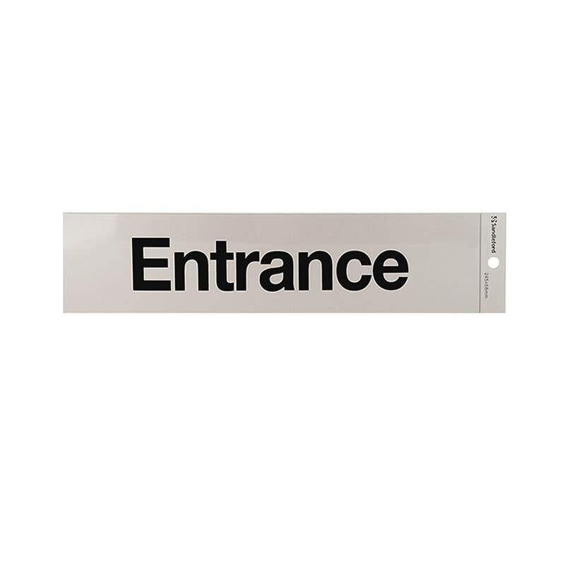 Sandleford Entrance Self Adhesive Sign