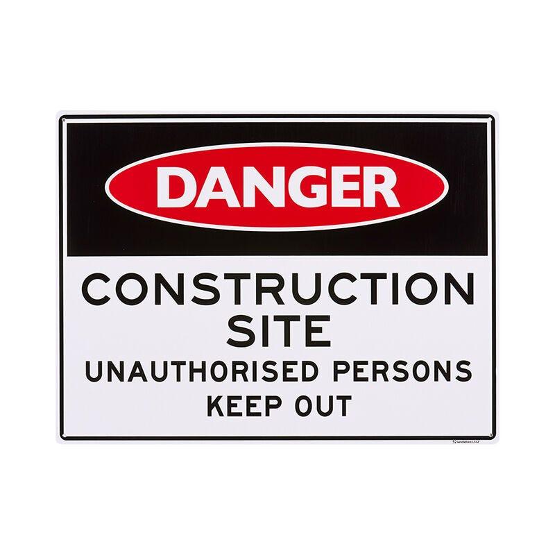 Sandleford Construction Site Sign
