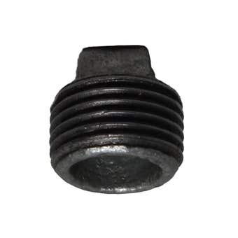 Brasshards Plug Galvanised 15mm