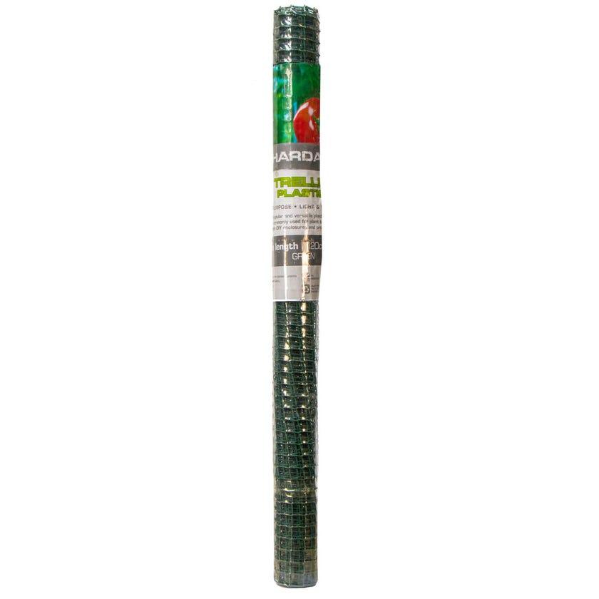 Trio Hardaz Trellis Plastic Green 120cm x 3m (25 x 25mm Aperture)
