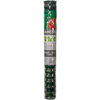 Trio Hardaz Trellis Plastic Green 90cm x 3m