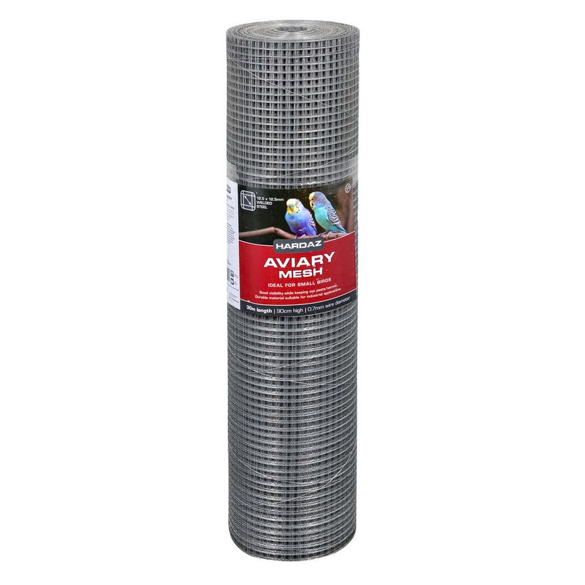 Trio Hardaz Aviary Mesh 900 x 0.7mm x 30m