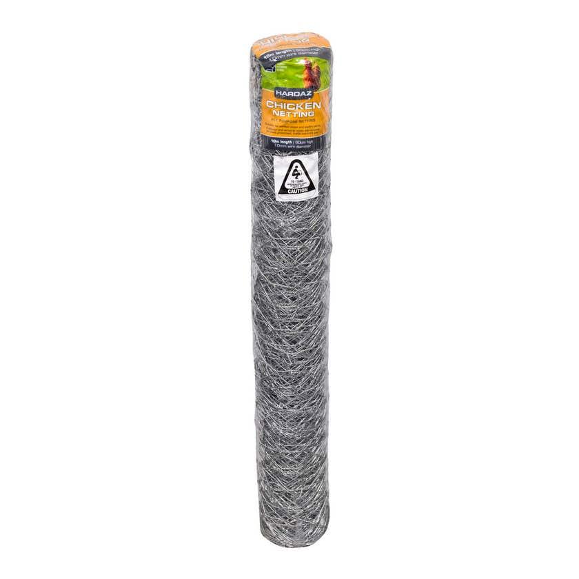 Trio Hardaz Chicken Netting 600 x 1.0mm x 10m