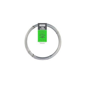 Trio Hardaz Tie Wire Dispenser Pack Galvanised 1.25mm x 40m