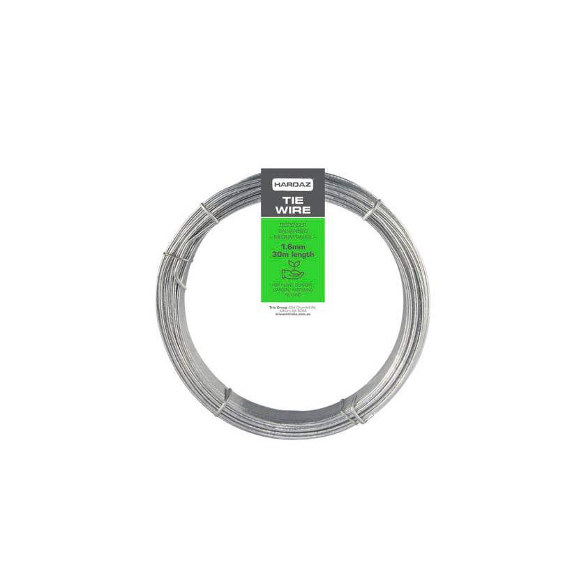 Trio Hardaz Tie Wire Dispenser Pack Galvanised 1.60mm x 30m