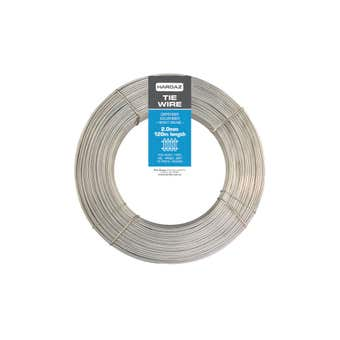 Trio Hardaz Tie Wire Dispenser Pack Galvanised 2.00mm x 120m