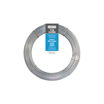 Trio Hardaz Tie Wire Dispenser Pack Galvanised 2.00mm x 40m