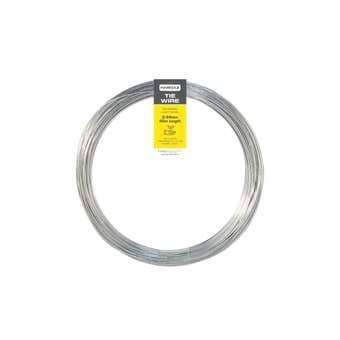 Trio Hardaz Tie Wire Galvanised 0.44mm x 40m