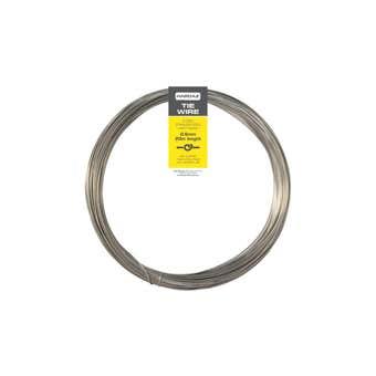 Trio Hardaz Tie Wire Light Gauge Stainless Steel 0.6mm x 20m 50g
