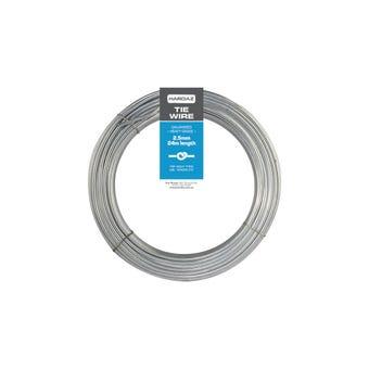 Trio Hardaz Tie Wire Galvanised 2.50mm x 24m