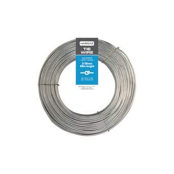 Trio Hardaz Tie Wire Galvanised 3.15mm x 48m