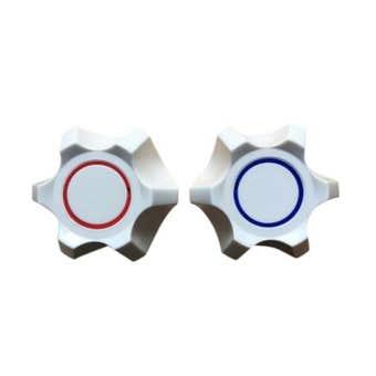 Mildon Sapphire Style Universal Handles White