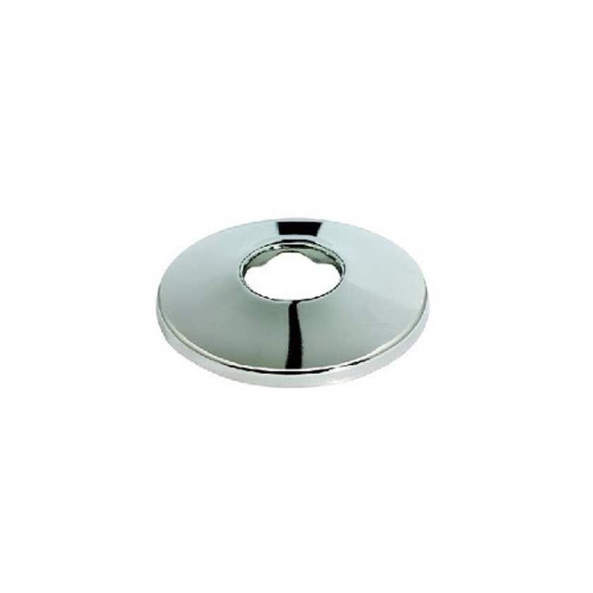Mildon Cover Plate 15mm BSP & 10mm Raise Chrome - Trade