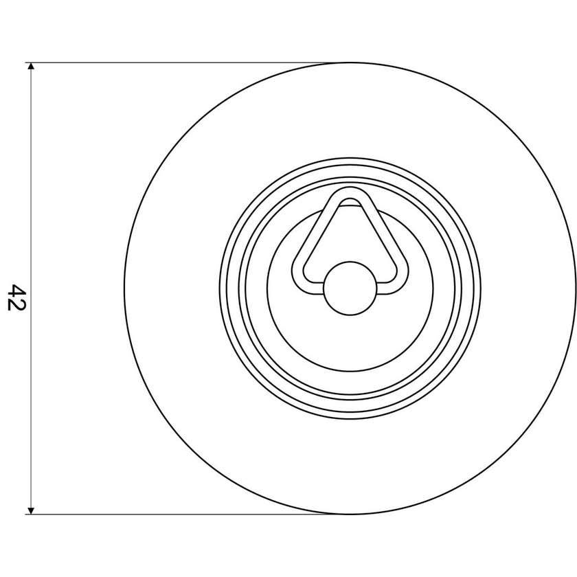 Mildon Rubber Plug 40mm