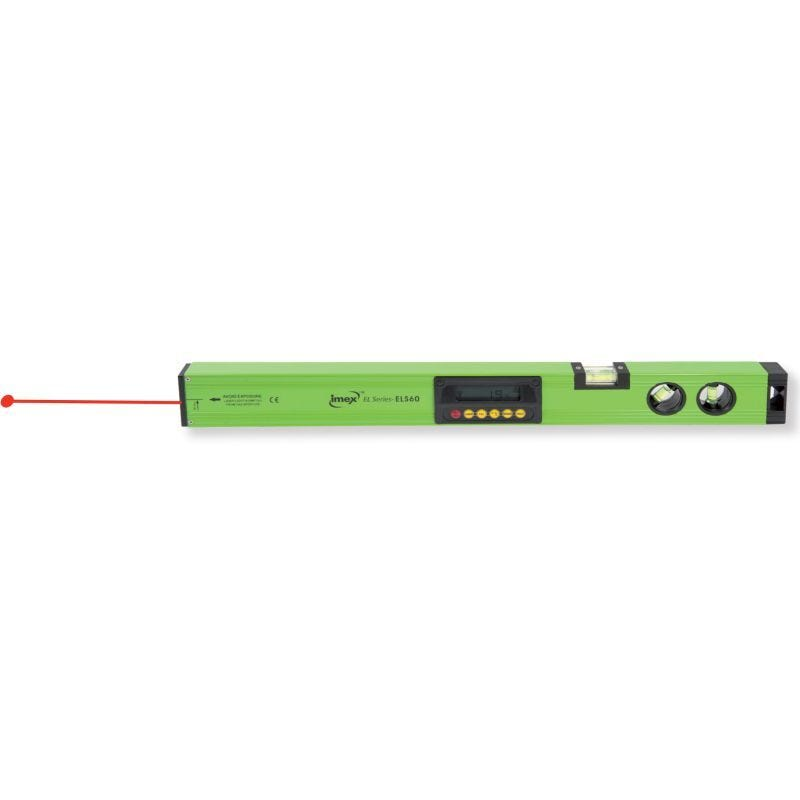 Imex Digital Level With Laser Beam 600mm EL60L