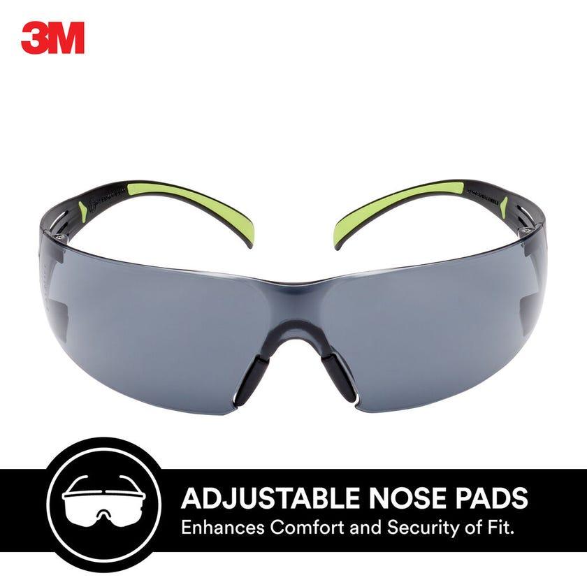 3M SecureFit 400 Series Safety Glasses Grey Lens
