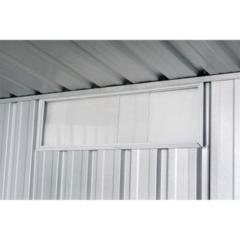 Absco Sliding Perspex Window 230mm x 730mm