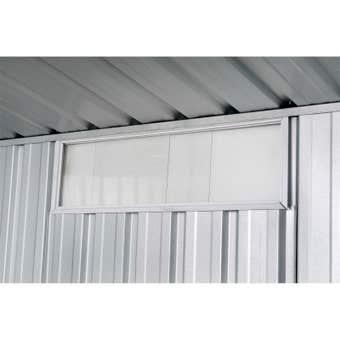 Absco Sliding Perspex Window 230 x 730m