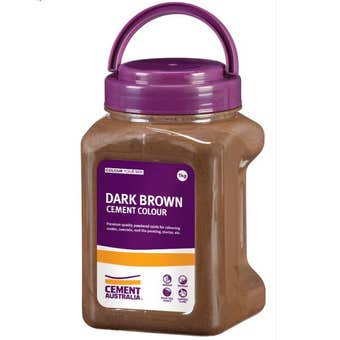 Cement Australia Oxide Colouring Dark Brown 1kg