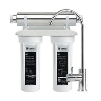Puretec Twin Undersink Filter & UV System