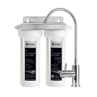 Puretec Twin Undersink Water Filter System