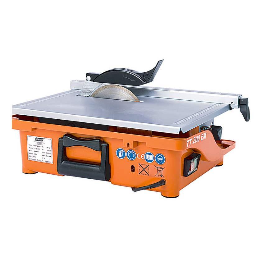 Norton Clipper Table Top Tile Cutting Saw 200mm TT200EM