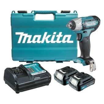 "Makita 12V Max 3/8"" Impact Wrench Kit TW140DWYE"