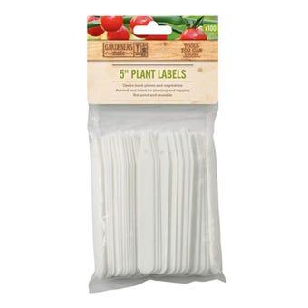 Gardman Plant Labels 125mm - 50 Pack