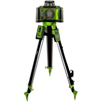 Imex Rotating Laser Level With Tripod & 5m Staff I88R