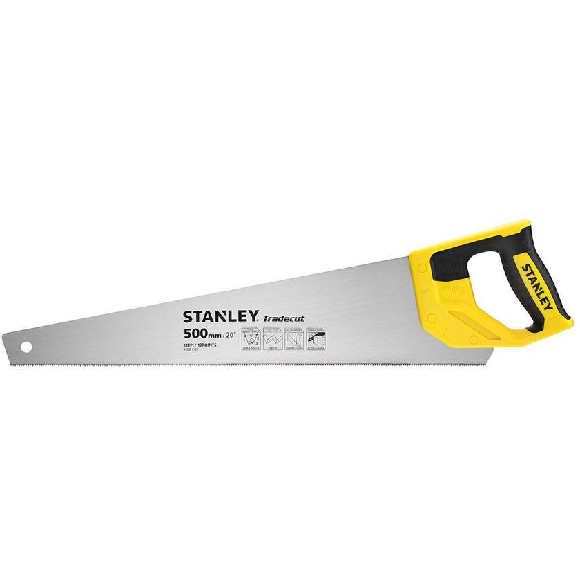 Stanley Tradecut Handsaw 500mm