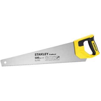Stanley Tradecut Hand Saw 500mm 7TPI