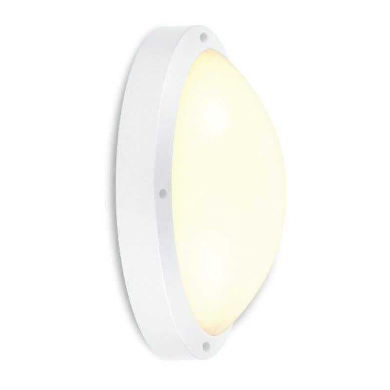 HPM Oroya LED 12W Bunker Light Cool White White Finish