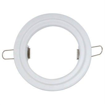 HPM Downlight Extension Plate White 120mm