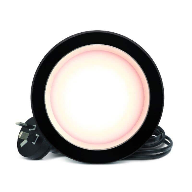 HPM DLI LED Downlight Warm White Black 7W 90mm